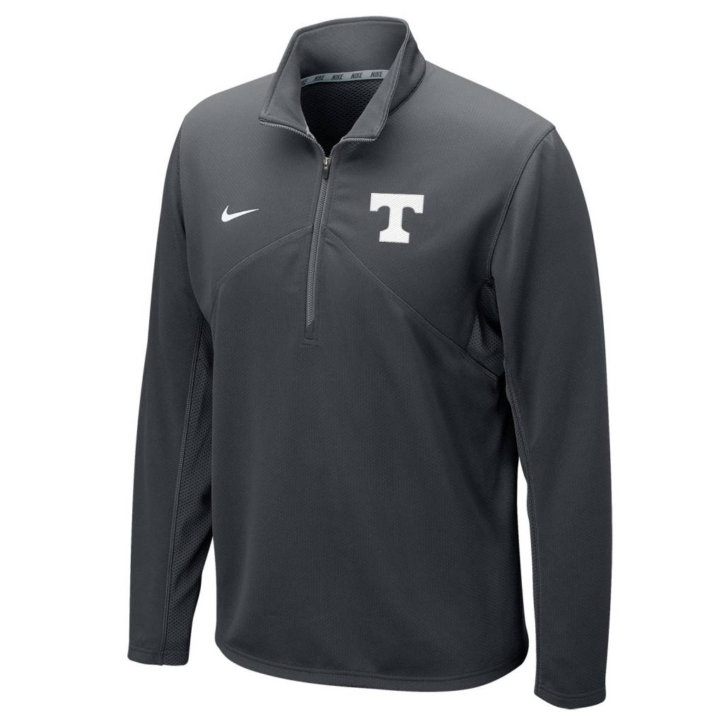 Nike Nike Dri-Fit 1/4 Zip Grey with White T M