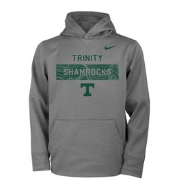 Nike Nike Sideline Dark Heather Hoodie Dri-Fit Tee