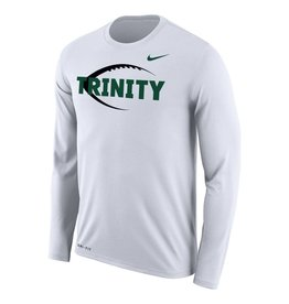 Nike Football New White Dri Fit L/S
