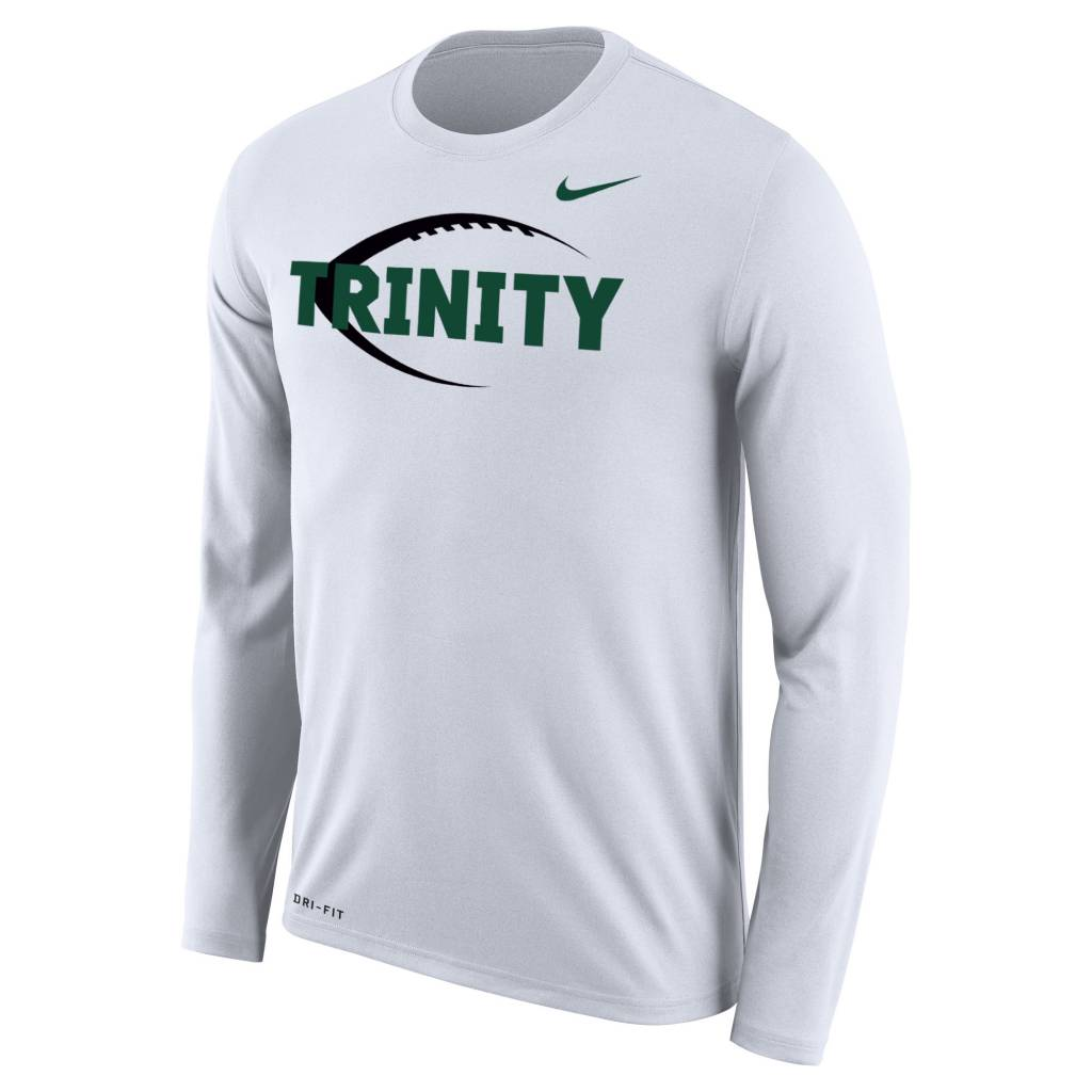 Nike Football New White Dri Fit L/S