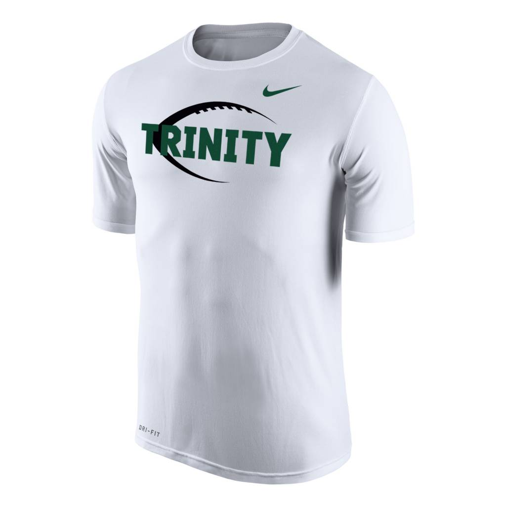 Nike Football New White Dri Fit S/S