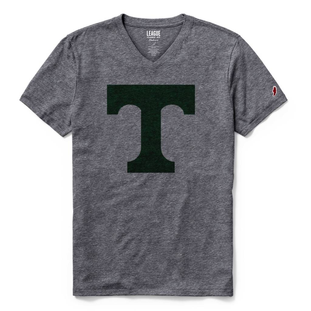 League Twisted Triblend V-Neck