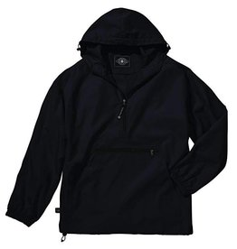 Digital Promotions Soccer Light Weight Rain Pullover w/ hood