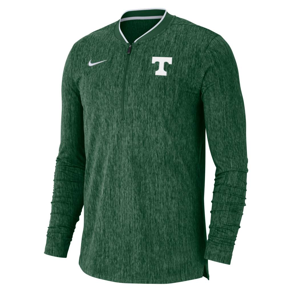 Nike Nike Sideline 2019 Coach 1/2 Zip Top Green
