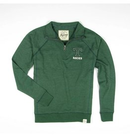 Legacy Athletics Heather Green Fleece 1/4 Zip