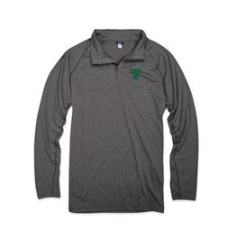 MV Sports Heather 1/4 Zip Lightweight