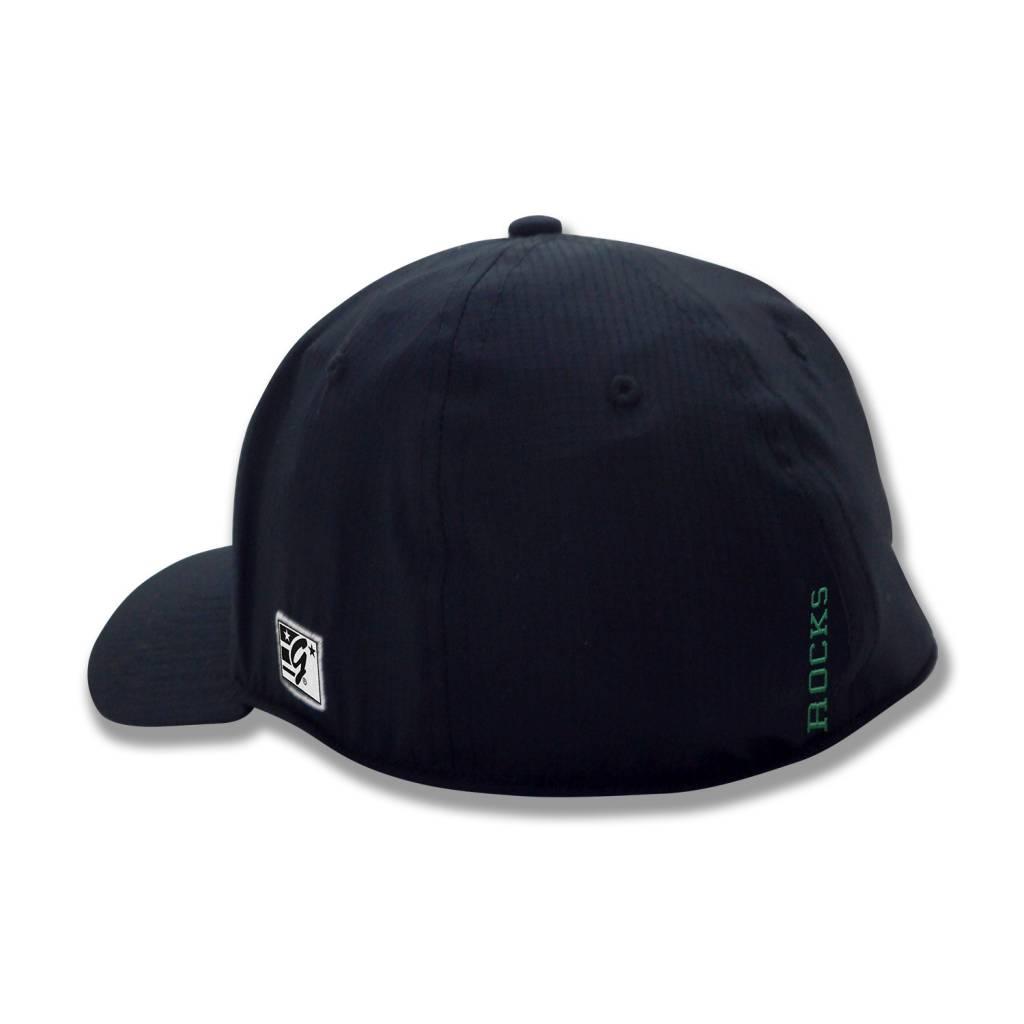 The Game Black A-Flex Hat Power T