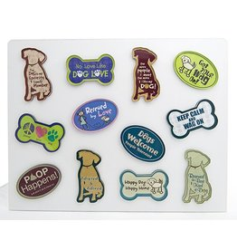 Dog Speak Acrylic Magnet