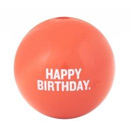 Planet Dog Happy Birthday Ball Coral