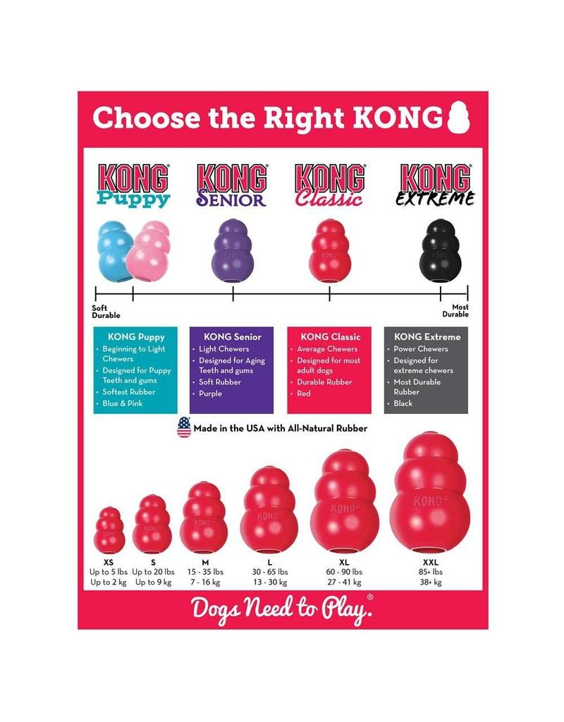 KONG KONG CLASSIC, Large, RED
