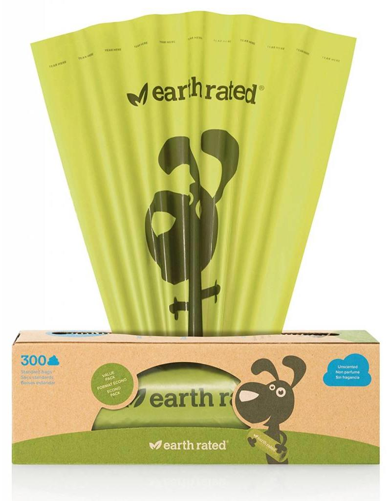 EARTH RATED POOPBAGS EARTH RATED POOPBAGS CASE 300 ECO-FRIENDLY BAGS UNSCENTED