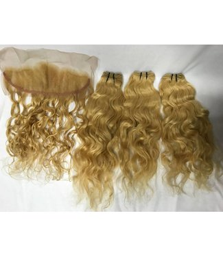 """Raw Indian Blonde Frontal 13""""x4"""""""