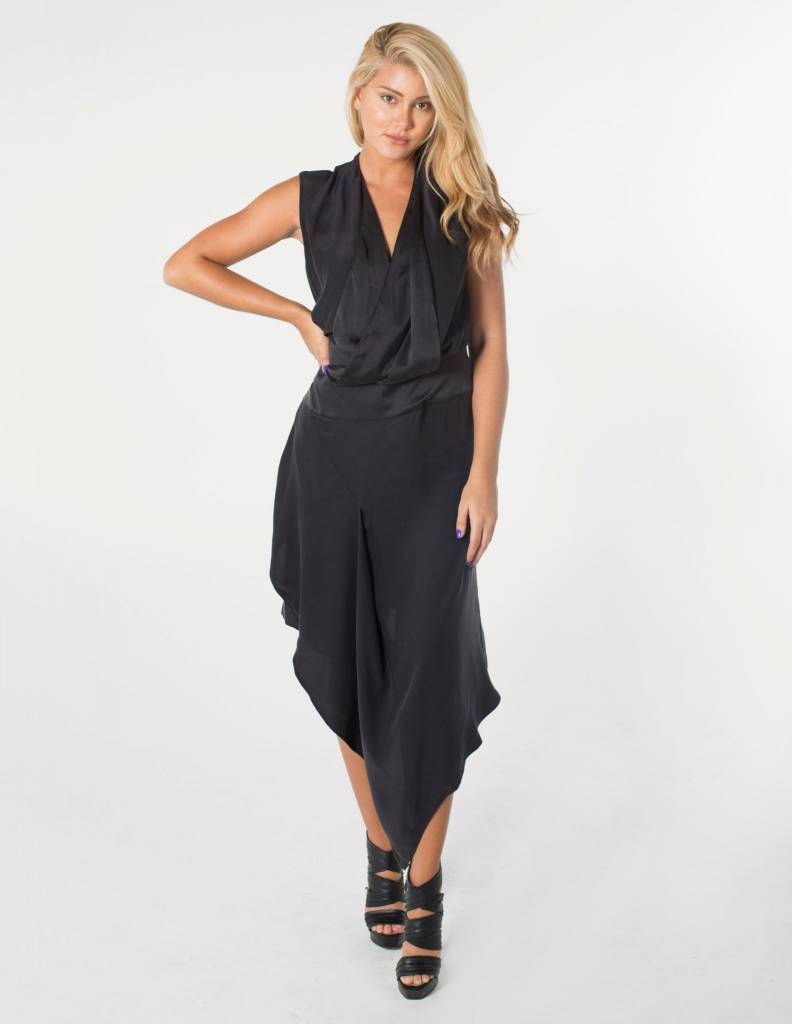 ACLER Bennet Silk Dress