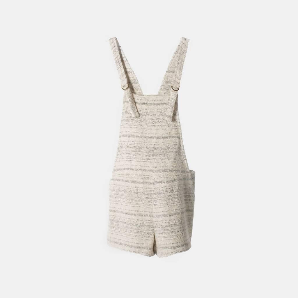 THE KORNER Tweed Short Overalls