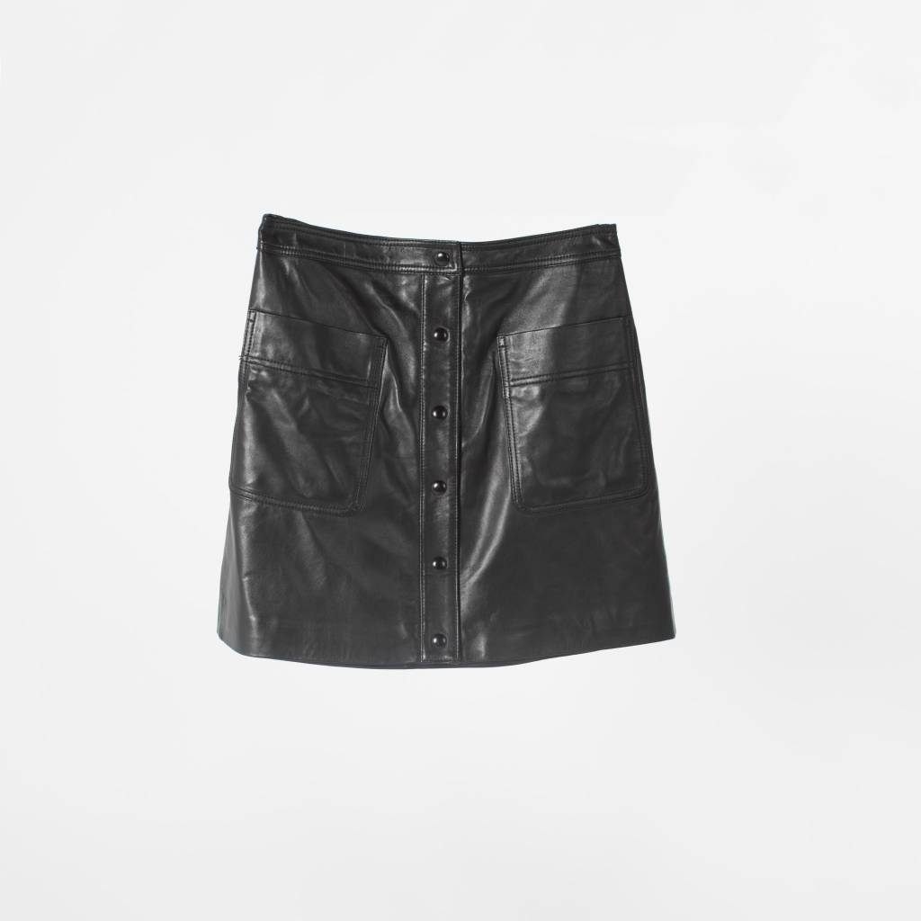 HINT Rebecca Leather Skirt