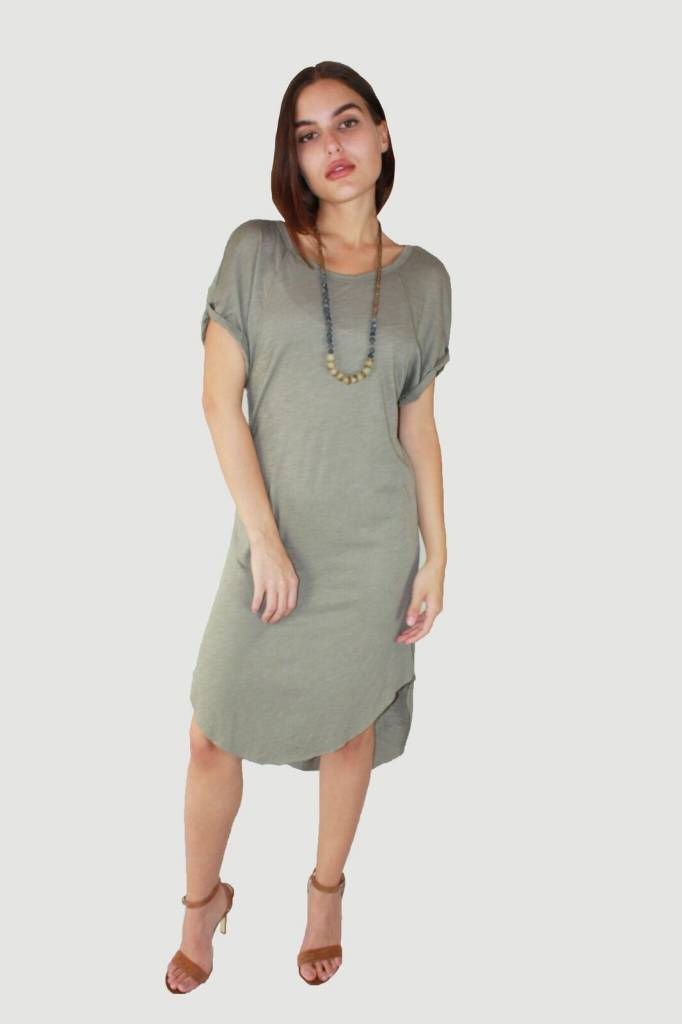 FRESH LAUNDRY Tee Dress with Tail - NS5420