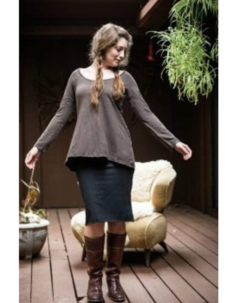 Sweet Skins Long Sleeve Tunic Top