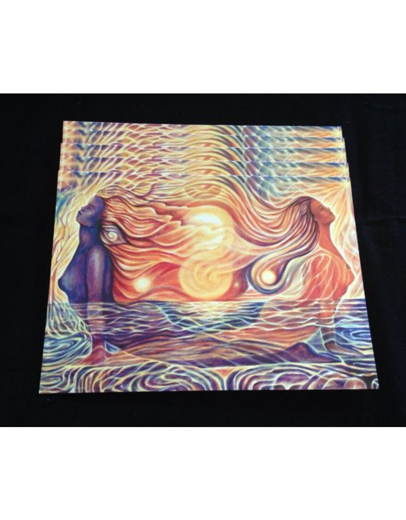 Dhira Lawrence Greeting Card (Divine Flow)