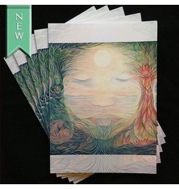 Dhira Lawrence Greeting Card (Gaia)