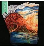 Dhira Lawrence Greeting Card (Pele's Slumber)