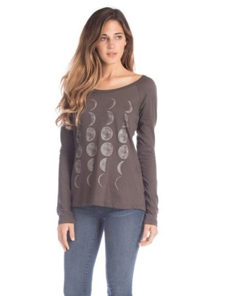 Synergy Moon Phases Long Sleeve (Graphite) L