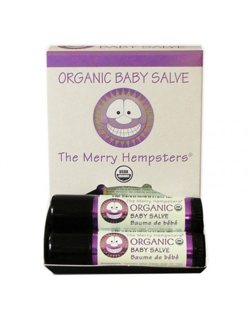 The Merry Hempsters Organic Hemp Baby Salve