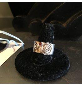 Black Moon Metals Spiral Tube Ring