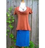 Belle Weather Scoop Cowl S/S Tunic