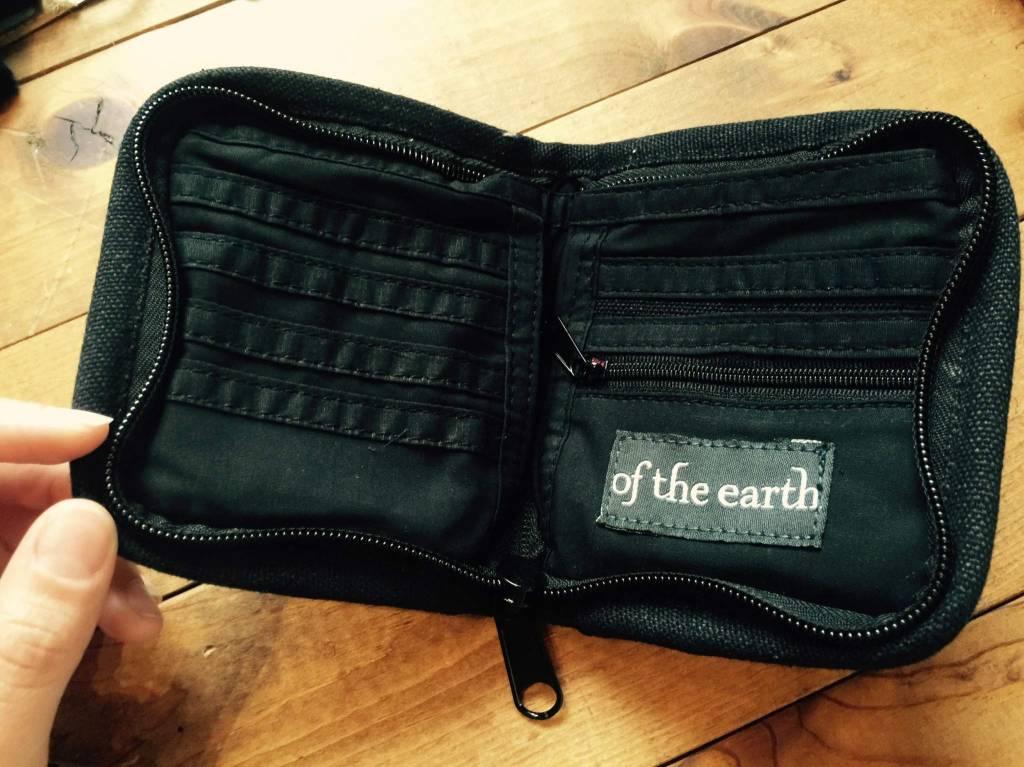 Of the Earth Hemp Wallet