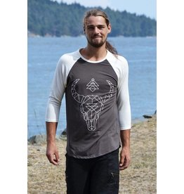 MahaDevi Atlas Men's 3/4 Sleeve Tee Printed