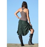 MahaDevi Bustle Wrap Skirt
