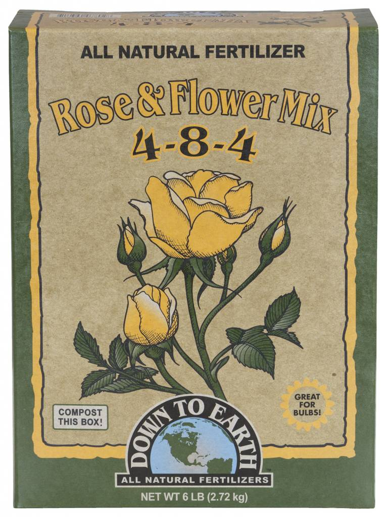 Down to Earth Distributors ROSE & FLOWER MIX 4-8-4  50LB