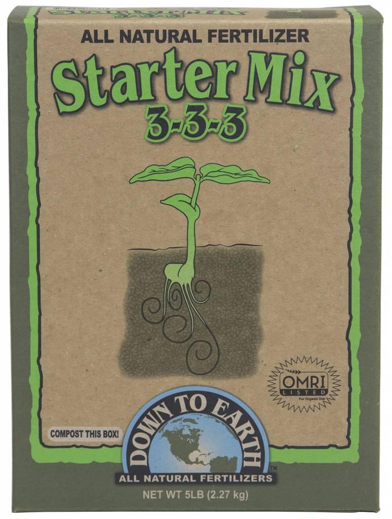 Down to Earth Distributors STARTER MIX 3-3-3   50LB