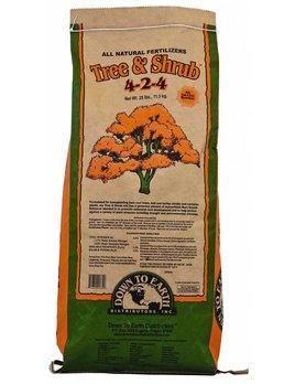 Down to Earth Distributors TREE & SHRUB MIX 4-2-4   25LB
