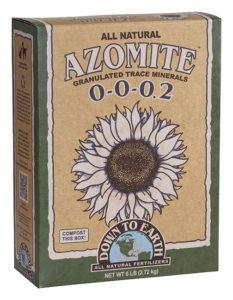 Down to Earth Distributors AZOMITE GRANULATED   50LB