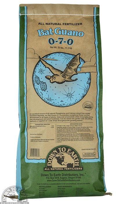 Down to Earth Distributors BAT GUANO 9-3-1   25LB