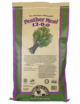 Down to Earth Distributors FEATHER MEAL 12-0-0   50LB