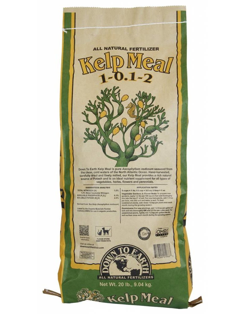 Down to Earth Distributors KELP MEAL 1-0.1-2   50LB