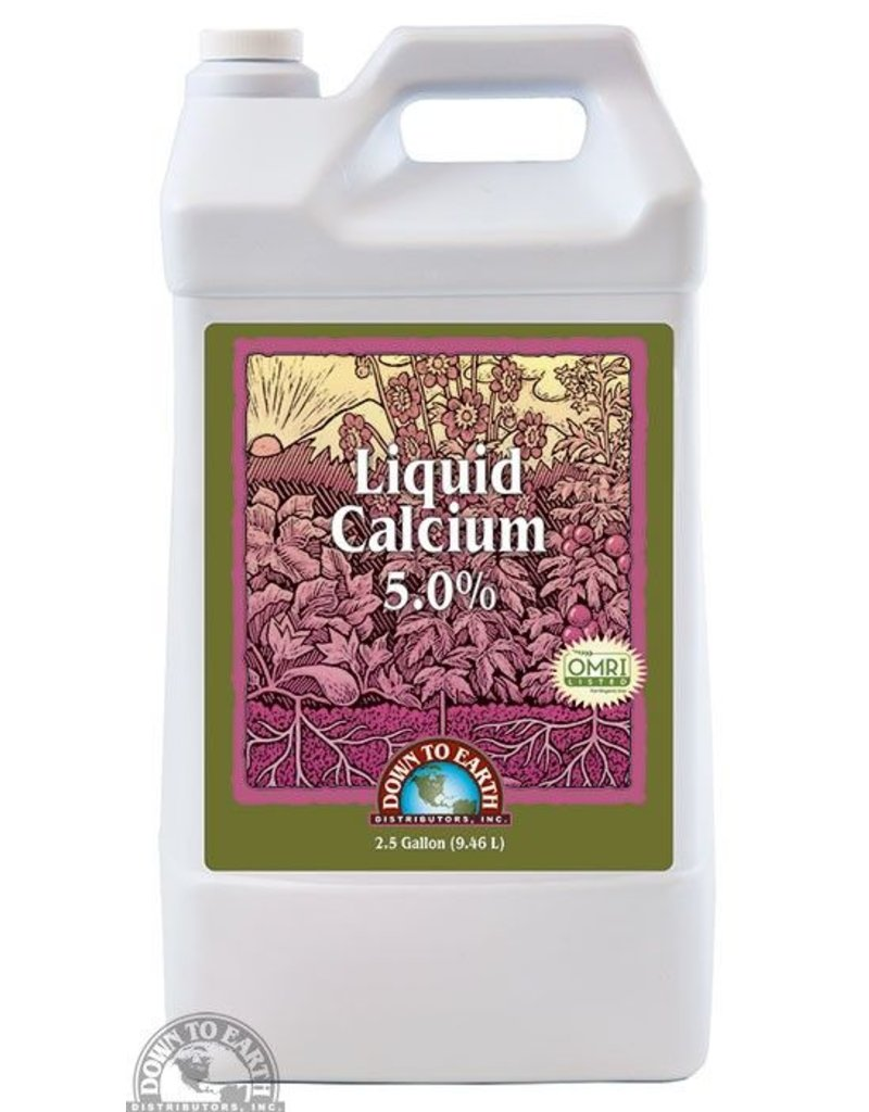 Down to Earth Distributors DTE LIQUID CALCIUM 2.5GAL