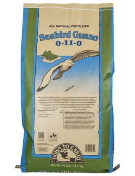 Down to Earth Distributors SEABIRD GUANO  0-11-0   40LB