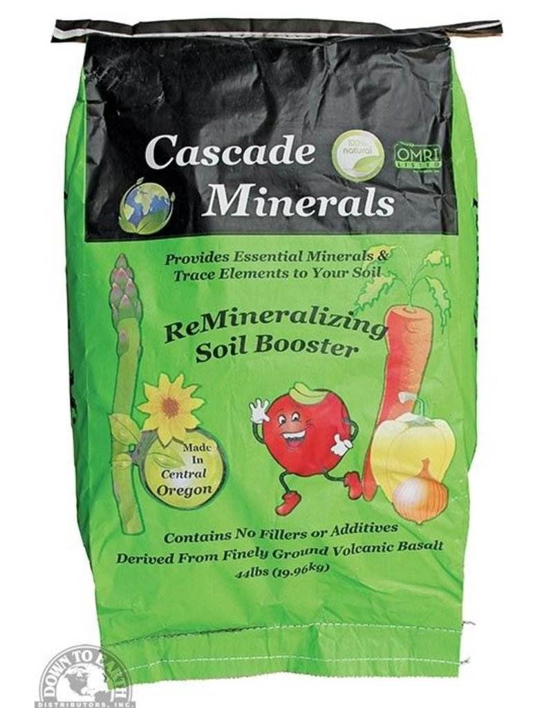 Down to Earth Distributors CASCADE MINERALS 44LB