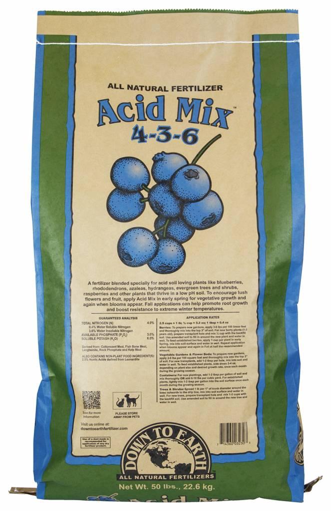 Down to Earth Distributors ACID MIX 4-3-6  50LB