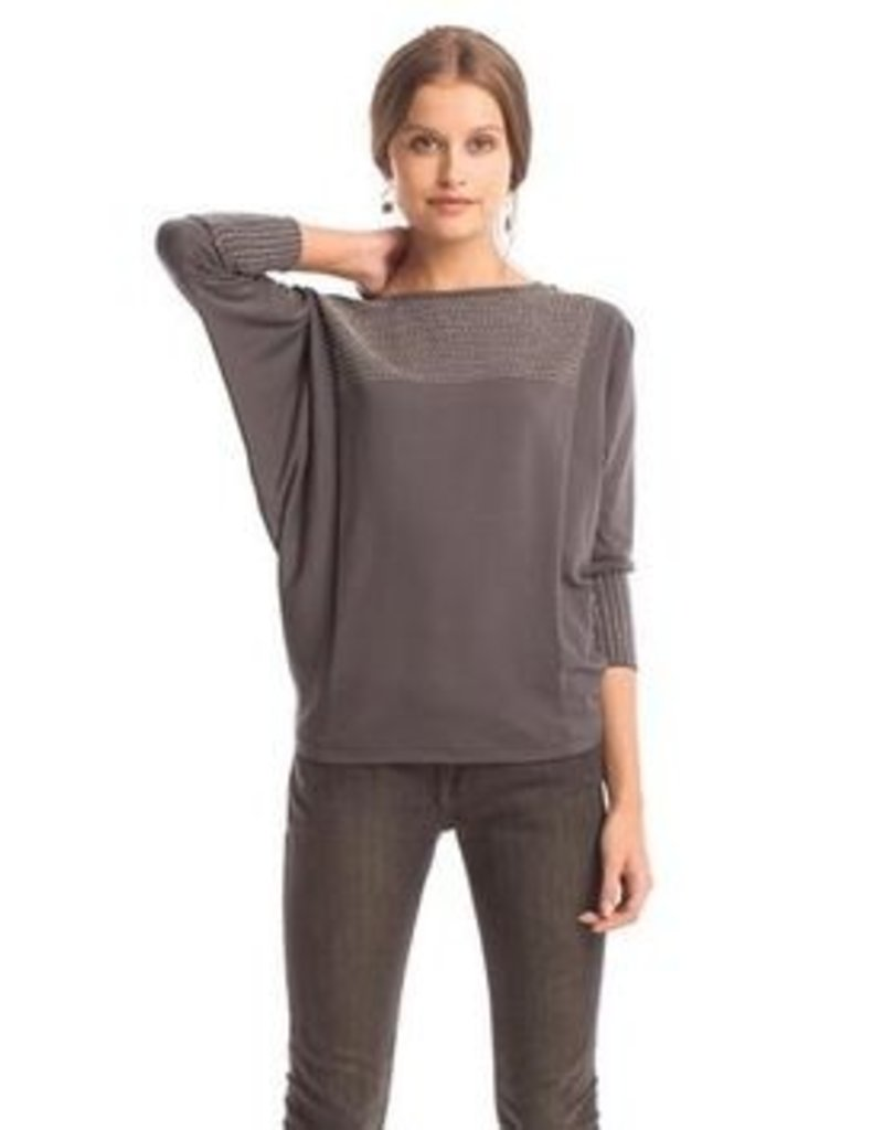 Synergy Rice stitch Cara Top