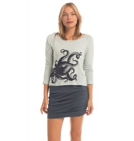 Synergy Screenprint Octopus Raglan Top