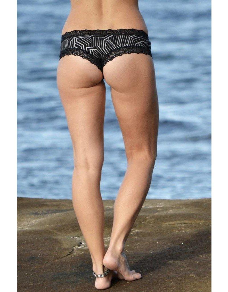 MahaDevi Ina Brazillian Panties Printed