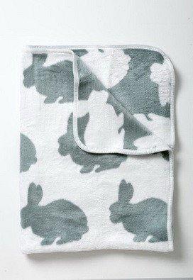 Hertex Bunny Blanket Duckegg 40 x 50 inches