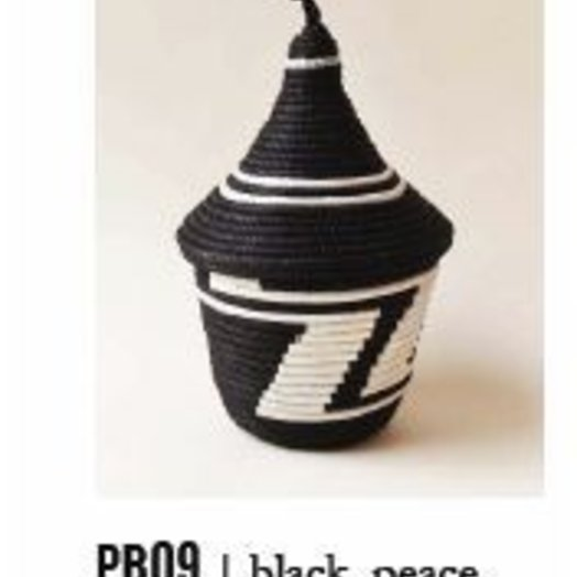 Indego Africa Tea & White Peace Basket