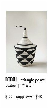 Indego Africa Triangles Basket