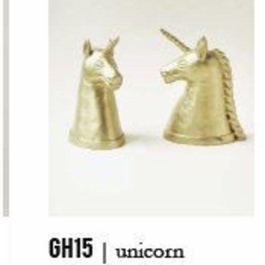 Indego Africa Unicorn Bookend Set