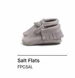 Freshly Picked Salt Flats - 16 Core Moccasins- Size 1